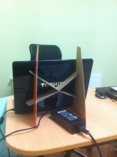 DIY laptop stand v2